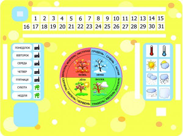 Календарь А3 (на украинском)