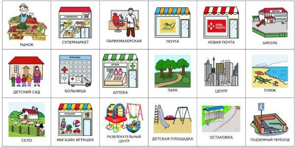 Общественные места 1 (на русском)