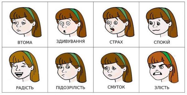 эмоции (на украинском)