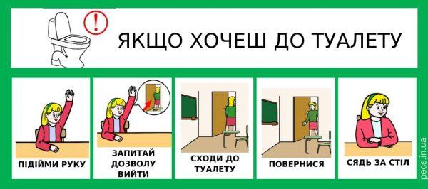 Выйти в туалет (на украинском)