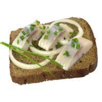 Бутерброд с селедкой