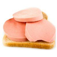 Бутерброд с вареной колбасой