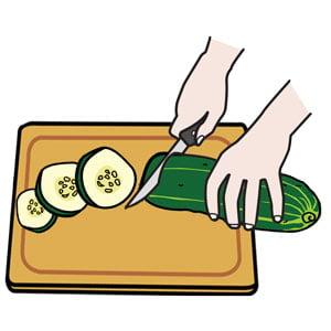 Визуальная инструкция Готовим салат