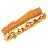 Карточка бутерброд – багет