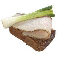 Карточка бутерброд с салом
