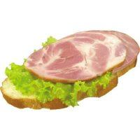 Карточка бутерброд с ветчиной