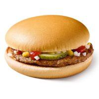 Карточка гамбургер