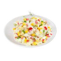 Карточка салат с крабовыми палочками