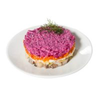 Карточка салат сельдь под шубой
