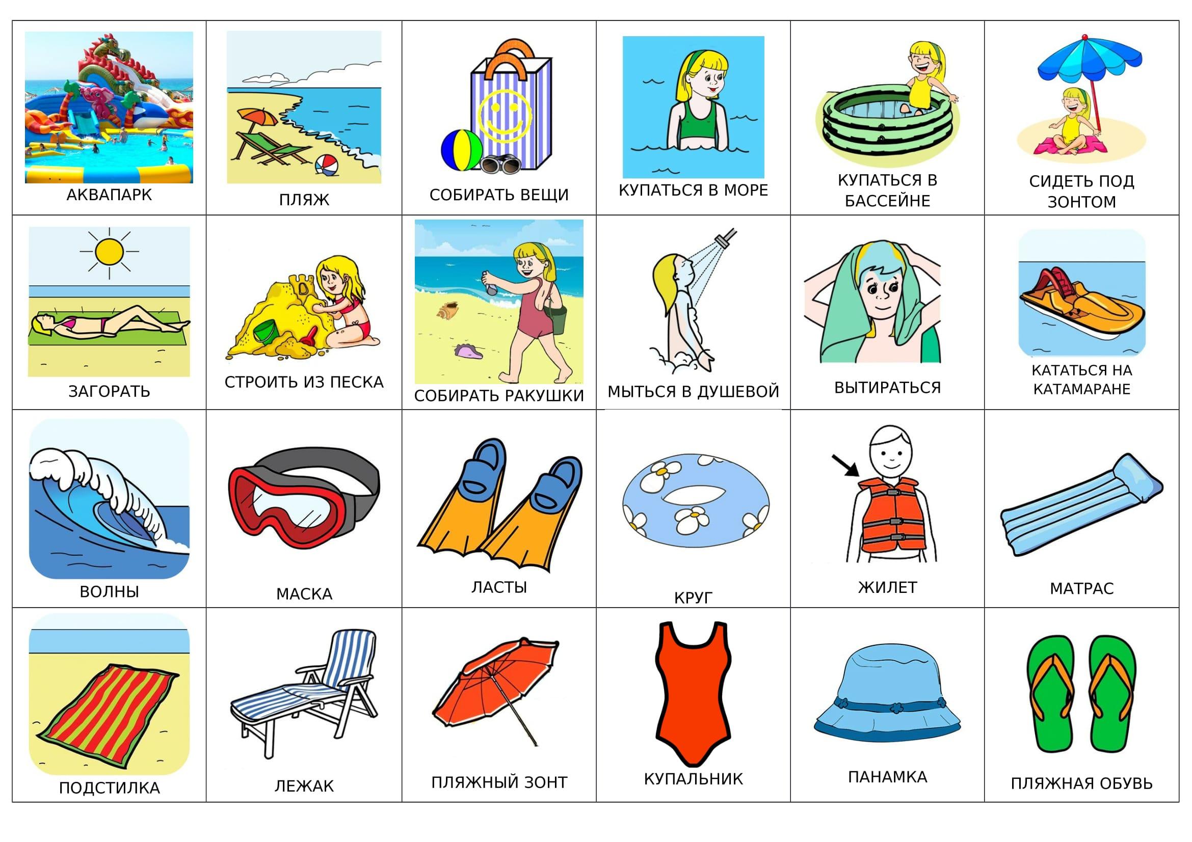 Пляж (на русском)