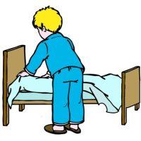 Заправлять постель-светлый