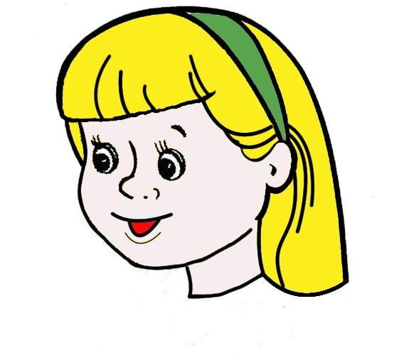 девочка светлая