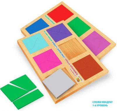 методика никитиных сложи квадрат 1