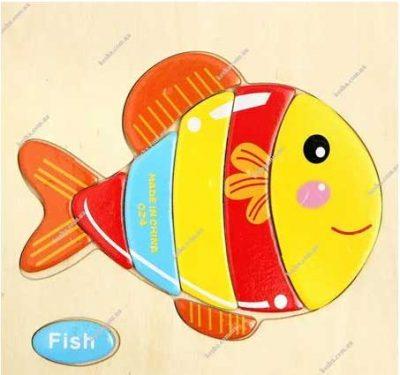 пазл-рыба
